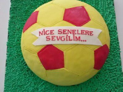 Futbol Topu Pasta