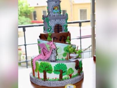 Cake Show İstanbul 2015 Dekoratif Tasarımlar 2.cisi pastam